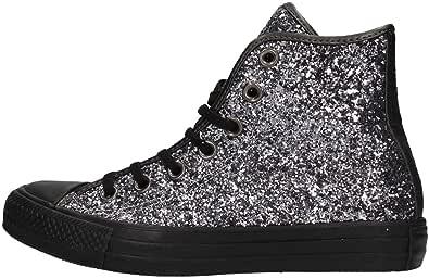 Converse - All Star Hi Glitter, Sneaker Alte Donna