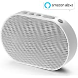 GGMM E2 Enceinte sans Fil Bluetooth WiFi Portable Mini Haut-Parleur Intelligent avec Alexa Airplay Multiroom Son Stéréo 10 W Blanc