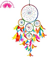 Reiki Crystal Products Dream Catcher Wall Hanging for Positive Energy and Protections 55 x 15 cm Approx