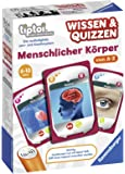 Ravensburger tiptoi 00753 - Spiel Wissen & Quizzen: Menschlicher Körper / Sammelt allein oder gemeinsam wertvolles Wissen über den menschlichen Körper von A bis Z