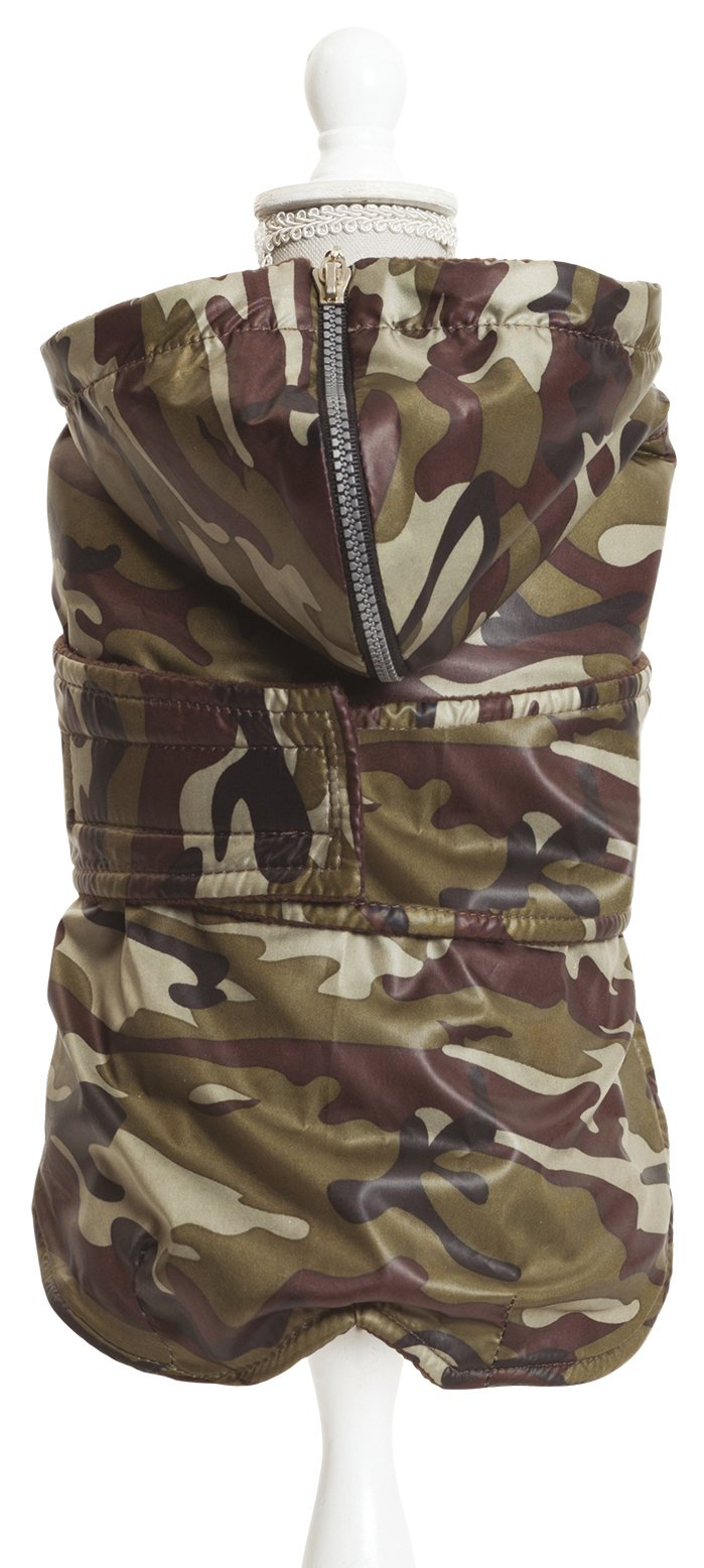 Croci C7274459 Jacket for Dogs Specific Fitting for Dachshunds And Basset Hound, 34 cm, Padded
