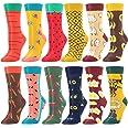 BONANGEL Calcetines Divertidos para Mujer, Calcetines de Animales, Novedad Bonita, Calcetines de Fantasía Coloridos Algodón E