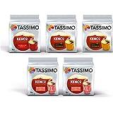 Tassimo Coffee Kenco Bundle Cápsulas de Café - Kenco Americano Smooth/Americano Grande/reine kolumbianische - 5 Paquetes (80