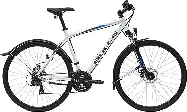 Herren Fahrrad 28 Zoll weiß - Bulls Wildcross Street Cross Bike - 21 Gänge, Licht, Schutzbleche