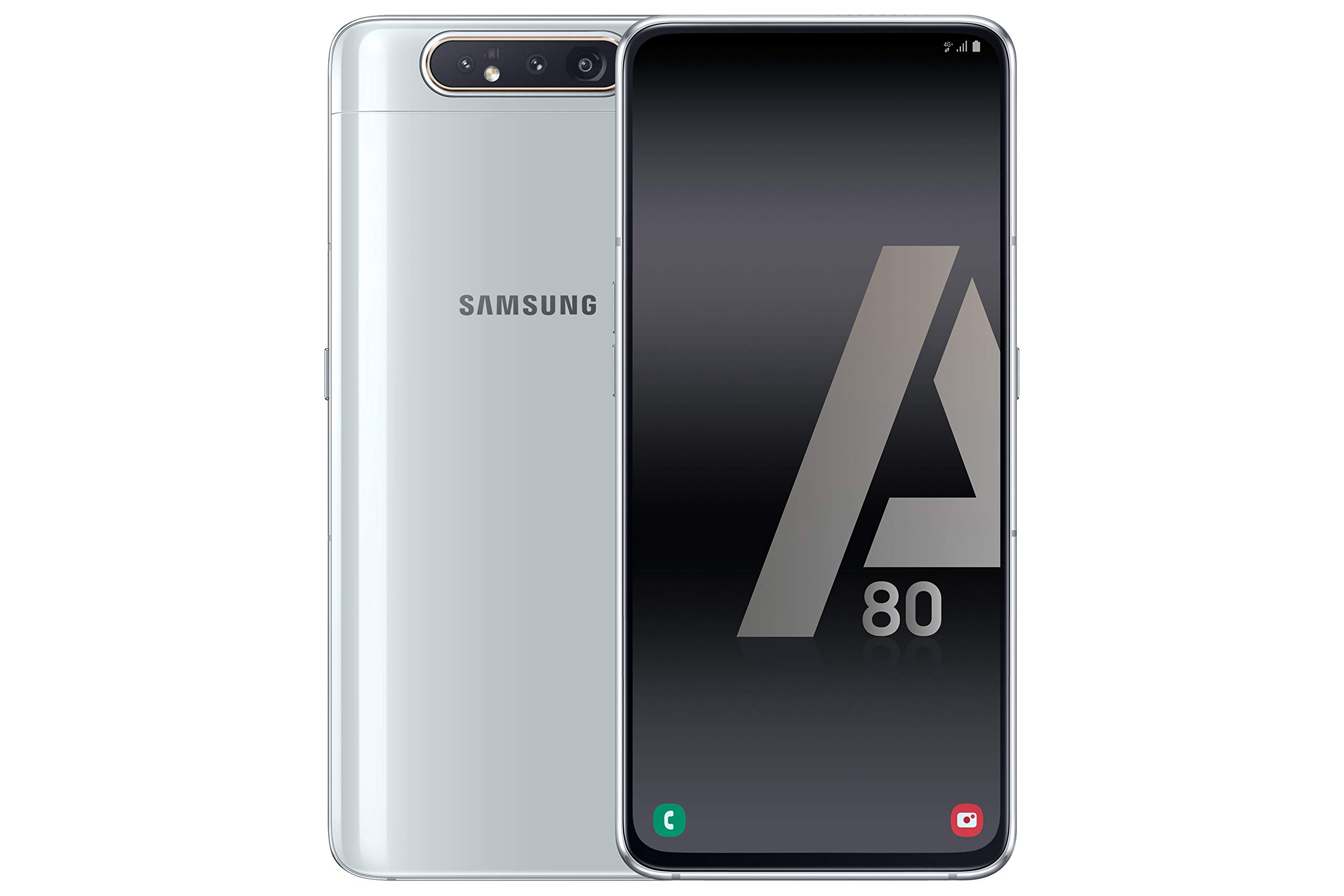 Samsung Galaxy A80 - Smartphone 4G (6,7'' - 128GB - 8GB RAM) - SILVER - Versione Spagnola