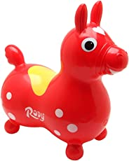 Ledraplastic Jakobs 4019960 - Rody Hüpfpferd, rot