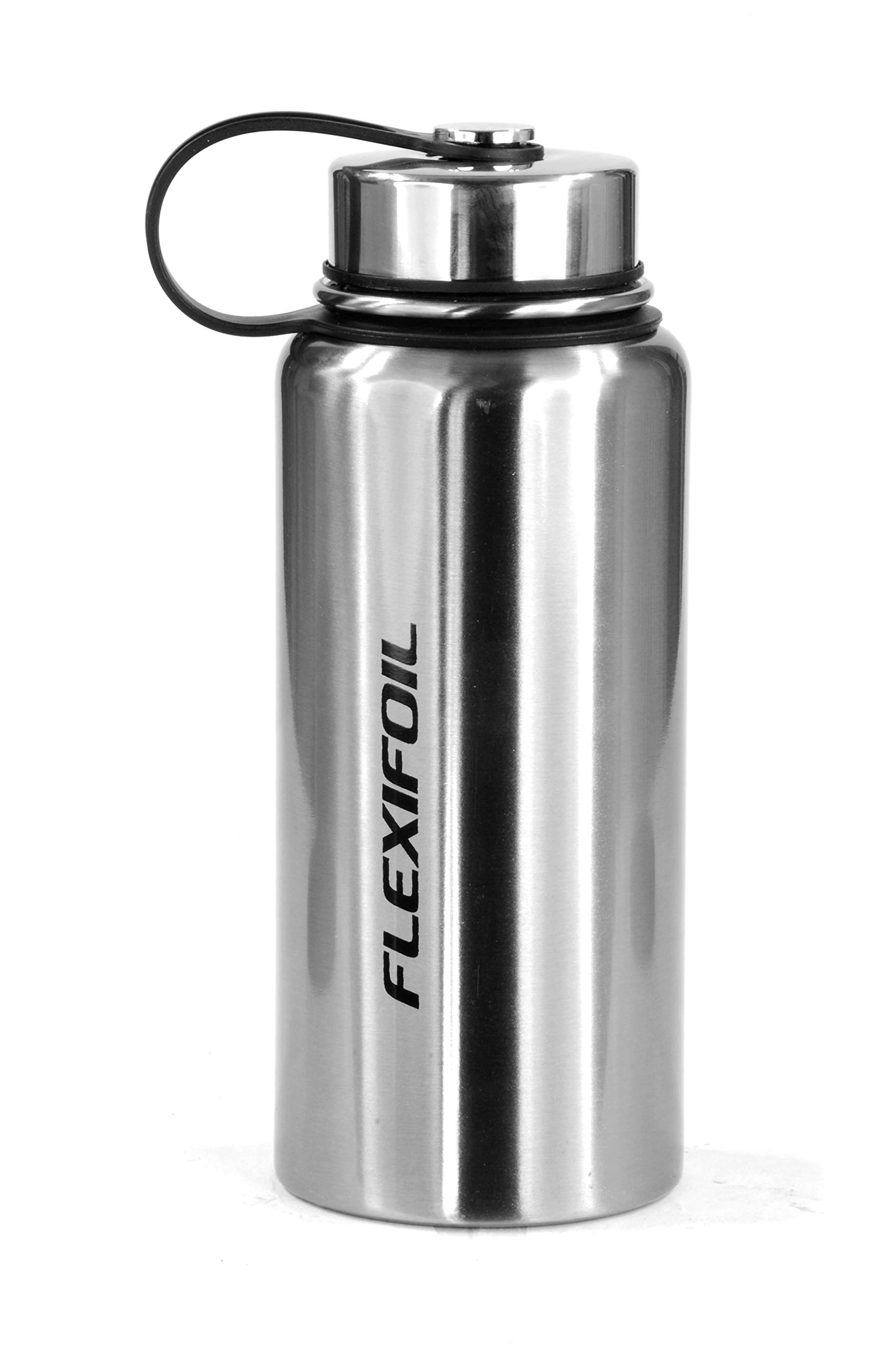 Flexifoil Thermos Flask - Best 800ml Vacuum Thermal for Coffee Tea and Water Drinking - Travel and Camping - Perfect Choice of Thermoses inc. Bottle Stopper 1