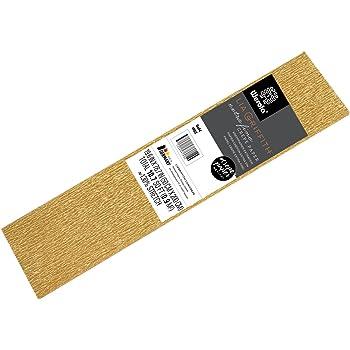 gold 50x250cm CREATIV DISCOUNT /® Krepp-Papier