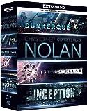 Coffret Christopher Nolan 3 Films : Dunkerque (Dunkirk) / Interstellar / Inception 4K [4K Ultra HD