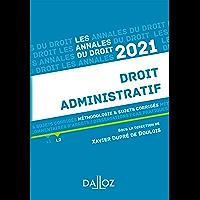 Annales Droit administratif 2021 (Annales du droit)