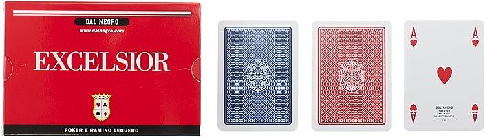 Dal Negro - 21008 ramino Excelsior doppio, carte da gioco.