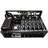 Mining Case Rack Moederbordbeugel, Open Mining Rig Frame voor 6~8 gpu Mining Case Rack, Para Atx/btx/flex/itx/microatx, Venti