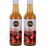 DiSano Apple Cider Vinegar (ACV) with Mother Vinegar, Raw, Unfiltered, Undiluted - 1000 ml (2 x 500ml)