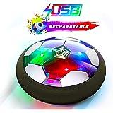 Flysee Balón Fútbol Flotant, Recargable Pelota Futbol con Protectores de Espuma Suave y Luces LED, Balones Futbol Juguete Niñ