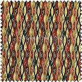 NEU Modern mit Streifen Muster Polster Stoff Vorhänge,
