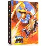 Sinwind Pokemon-plakboek, Pokemon-kaartenalbum, Pokemon-kaarthouder, Pokemon-map, kaartenalbum, boek, 30 pagina's kan tot 240