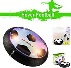 Pallone da Calcio CELLSTAR Air Hover Ball Regalo di Bambino con Luce Led per Giocare a Casa e Outdoor
