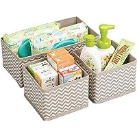 Vaoza 3 Pcs Foldable Drawer Organizer for Clothes, Wardrobe, and Undergarments Closet Divider Organiser Dresser Basket…