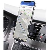AUKEY Soporte Móvil Coche Rejillas del Aire 360 Grados Rotación Soporte Teléfono Coche Ventilación para iPhone 12/11 / XS Max