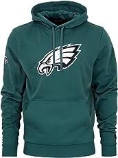 New Era - NFL Philadelphia Eagles Team Logo Hoodie - Petrol Grün