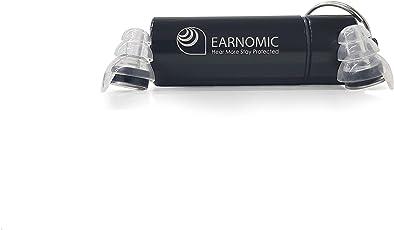 Earnomic Hi Fi | Alta fedeltà tappi per le orecchie riutilizzabili protezione acustica | tappi per orecchie, perfetto per musica, festival, DJ, musicisti, concerti e club | Best tappi per orecchie per riduzione del rumore fino a dB