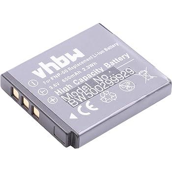 Batteria per FinePix X10, X20, XP170, XP200, Fujifilm XF1, Olympus XZ-2 sostituisce Fuji Fujifilm NP-50, NP-50A