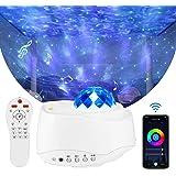 Majome LED Sternenhimmel Projektor Galaxy - Sternenhimmel Lampe, Sternenhimmel nebu licht mit Bluetooth und WiFi, für Nachtli
