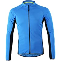 LY4U Men's Cycling Jersey Long Sleeve Biking Cycle Tops Quick Dry Breathable MTB Mountain Bike Shirt Racing Bicycle…