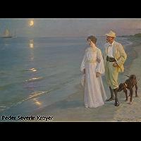 60 Amazing Color Paintings of Peder Severin Kroyer - Danish Impressionist Painter (July 23, 1851 - November 21, 1909…
