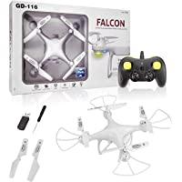 VRION Drone Without Camera with Rc, Drone, RC Drone, aerocraft, Drone with R C, Altitude Hold one Key Return, - Blue and…