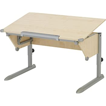 Kettler 06622 273 Schreibtisch Cool Top Silber Ahorn Amazonde