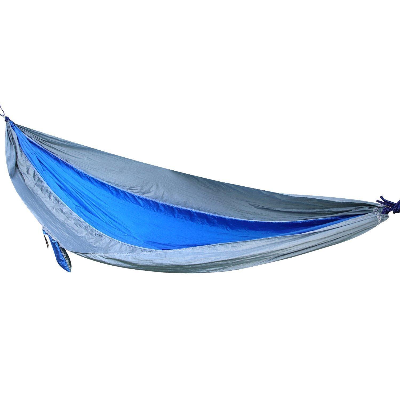 OUTAD Amaca da Campeggio 210t Nylon, Amaca Giardino per 2 Persone in Stoffa di Paracadute Amaca Mat