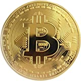 Jessicadaphne Gouden/zilveren Bitcoin-munt Brons Fysieke Bitcoins-munten Collectible BTC-munten Kunstcollectie Fysieke feestd