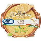 Riso Scotti - Vellutosa Ceci - Zuppa Vellutata di Ceci con Riso, Senza Glutine, Biologica - 270 gr