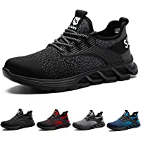 Safety Shoes Men Steel Toe Trainers Lightweight Women Work Shoes Breathable Industrial Sneaker