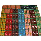 timtina 192Bougies parfumées et colorées, 10 parfums différents
