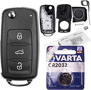 Repair Reparatur Satz Auto Schlüssel Austausch Gehäuse Elektronik