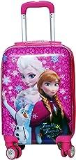 "Tramp & Badger Polycarbonate 17"" Pink Hard Sided Children's Luggage"
