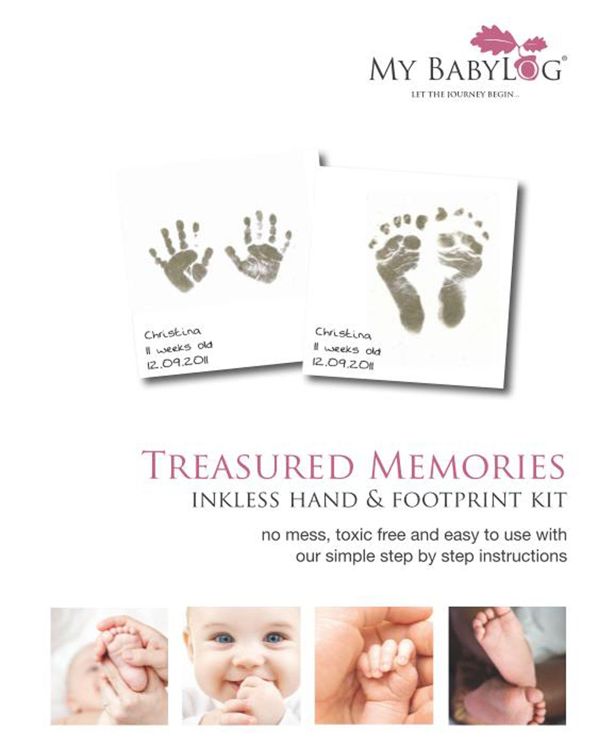 Without Retail Packaging Newborn hospital bag Keepsake Inkless Print Kit