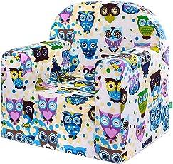 LULANDO Classic Kindersessel Babysessel Kindercouch Mini Sessel Kindermöbel für Spielzimmer und Kinderzimmer.