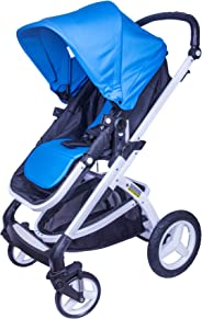 Tector Bonnie One-Click-Fold Baby Stroller / Buggy (Blue) - Pouch Series
