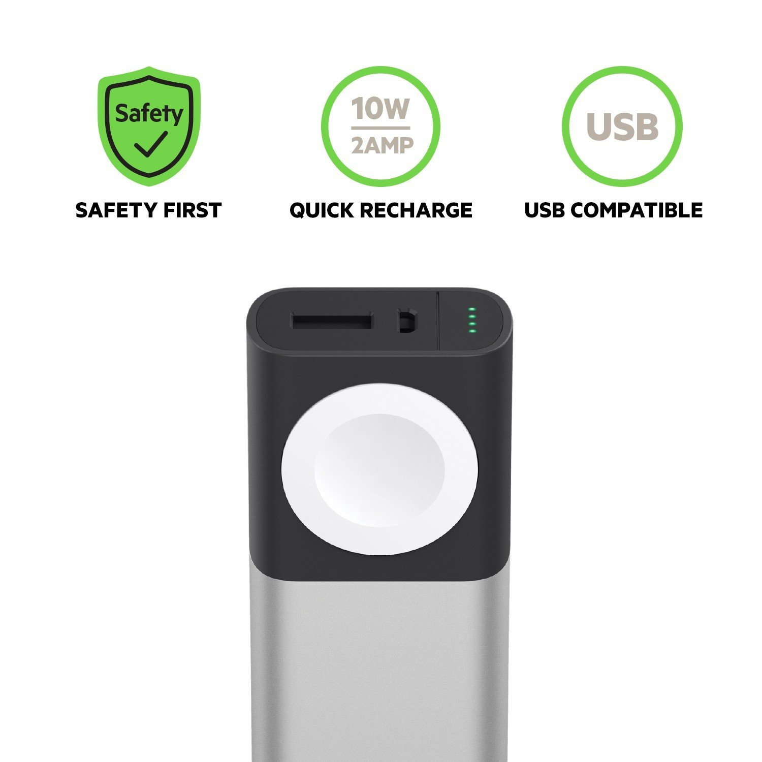 Belkin Valet Charger 6700 mAh Power Bank for Apple Watch + iPhone  (MFi-Certifed Apple Watch Charger + iPhone Power Bank for iPhone XS, XS  Max, XR,