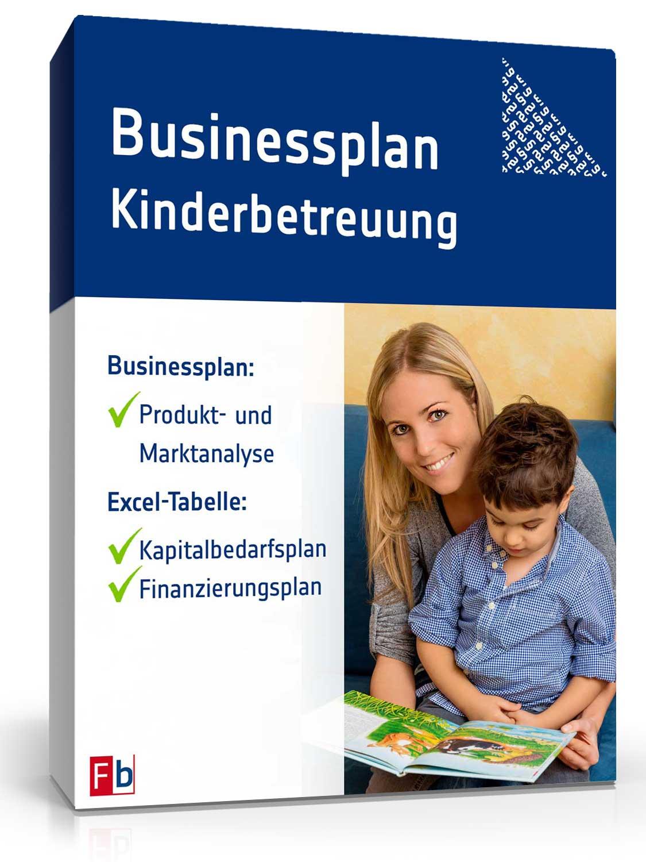 Businessplan Kinderbetreuung [Zip Ordner]