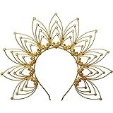 GRACEART Fascia per la corona di Sunburst Halo Accessori per Capelli Costume da festa (A)
