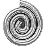 neverest Semiflex 150mm - Conduit d'Air Semi-Rigide Extensible en Aluminium - Tuyau d'Évacuation Flexible 3m