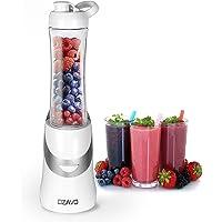 OZAVO Blender   Mini Blender Mixeur des Fruits   Mixer   350W   Blender à Smoothie et à Milk-shake   Couteaux en métal 2…