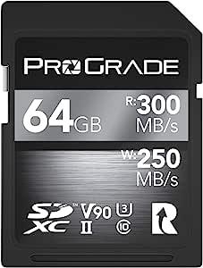 Sd Uhs Ii 64 Gb Karte V90 Bis Zu 250mb Computer Zubehör