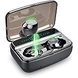 Ecouteur Bluetooth 5.0, lecover Oreillette Bluetooth IP8 Etanche 3D Hi-FI Son Stéréo, Anti-Bruit CVC 8.0, Ecouteur sans Fil a