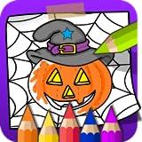 Färbung und Farbe Halloween