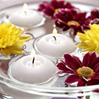 R Wellness Wax Floating Candles, Pack of 25